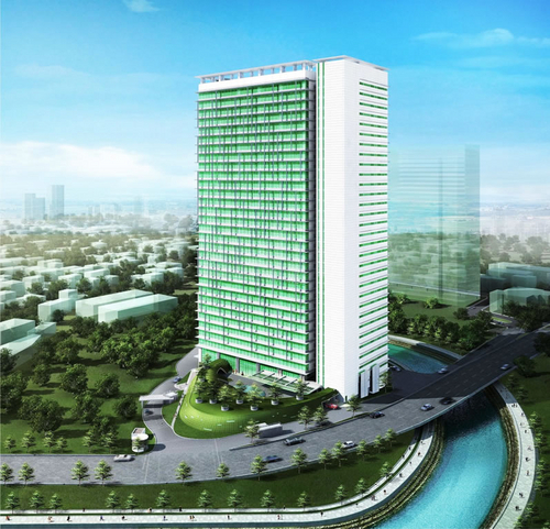 THE SIMA OFFICE TOWER @ SIMA-IZZAR, JAKARTA